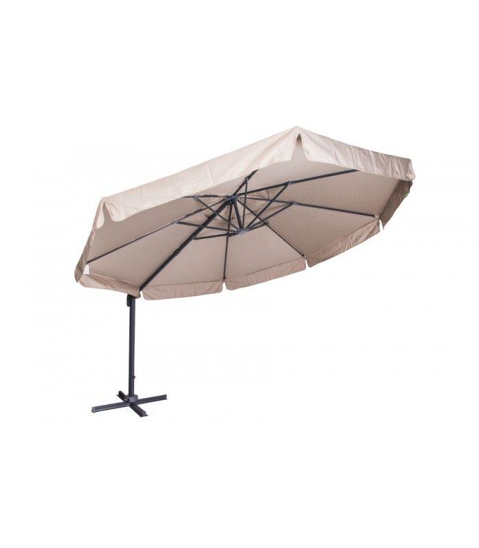 La linea Coveri Garden propone articoli adatti ad un uso personale ma anche contract: ombrellone parasole ideale per un giardino, terrazza, offre la possibilità di rotazione a 360° della base grazie ad una frizione a pedale. Anche l'inclinazione è regolabile con una frizione a scatto. -Sostegno laterale con palo in alluminio (77 mm) -Telo in poliestere (250 gr/m2) -Base a croce -Dimensioni: Ø 350 x H. 207 cm #ombrellone #parasole #contract #terrazza #giardino #CoveriGarden
