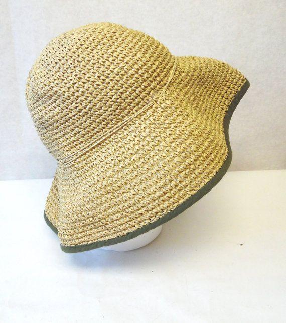 Wide Floppy Brim Hat Millinery Sun Bucket Cap by sweetie2sweetie