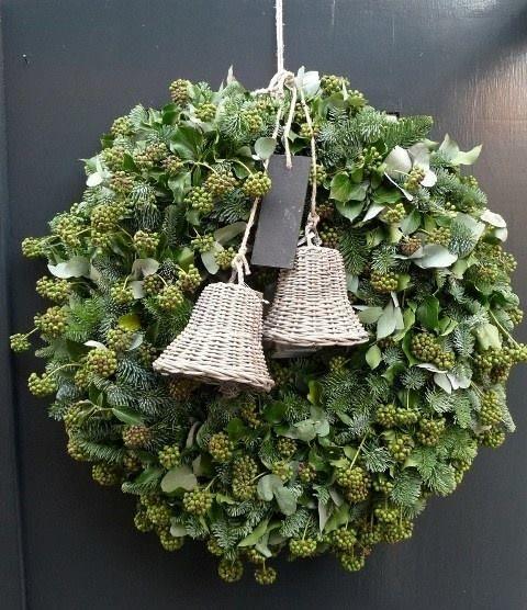 Natuurlijke kerst decoratie
