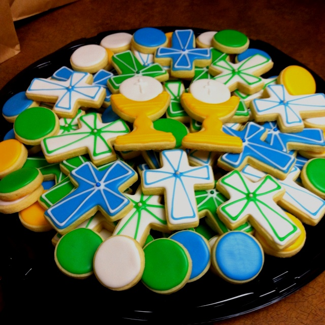 First Communion Cookies.