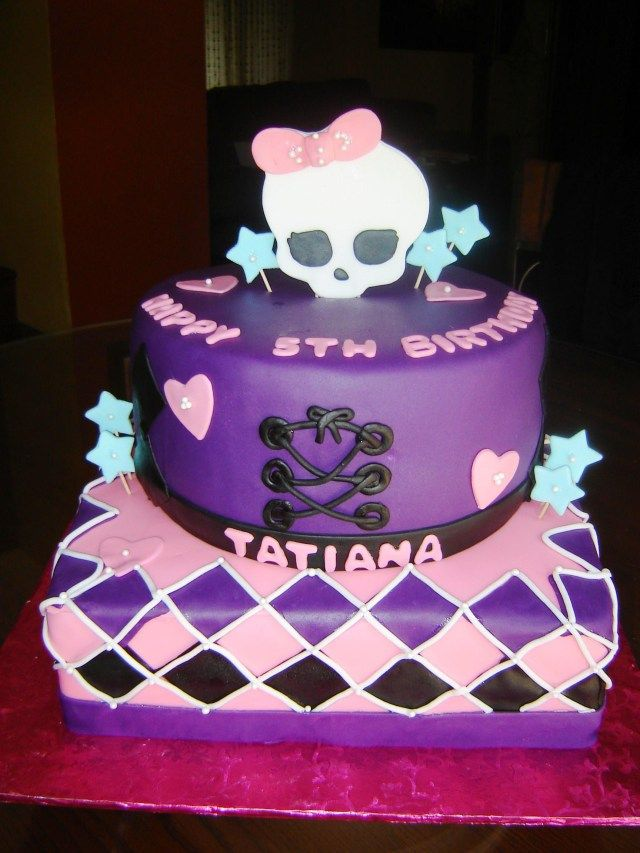 Fine 32 Brilliant Picture Of Monster High Birthday Cake Monster High Funny Birthday Cards Online Barepcheapnameinfo