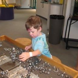 Photo of Santa Fe Children's Museum - Santa Fe, NM, United States. Playing with magnets