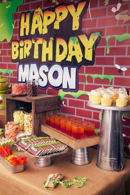 """Trash Pack"" Inspired Birthday by Sensationally Sweet Events - Paperblog"