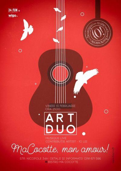 Concert Art Duo - MaCocotte, mon amour! Concerte