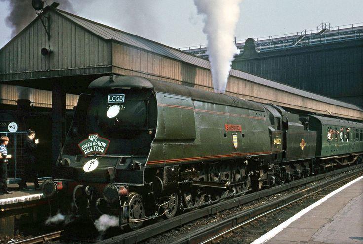 34002 Salisbury at Waterloo Jul 66 | by David Christie 14