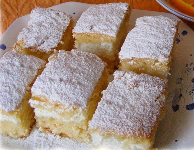 Könnyű citromos túrós szelet. 1 óra múlva már eheted! - www.kiskegyed.hu