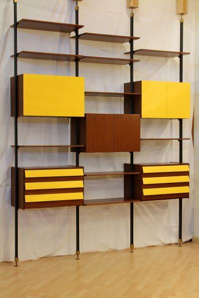 Libreria anni 60 nel 2019 mobili anni 39 60 arredamento for Mobili anni 60