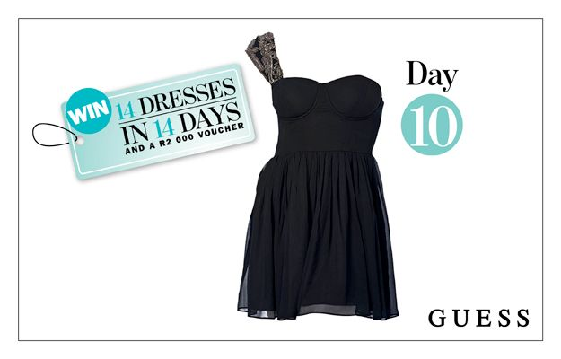 WIN: A Beaded Cocktail Dress From GUESS