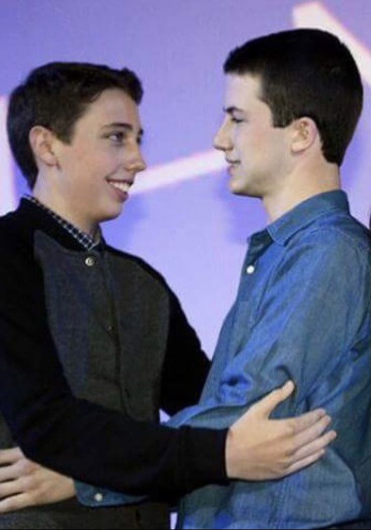 Dylan Minnette and Ryan Lee