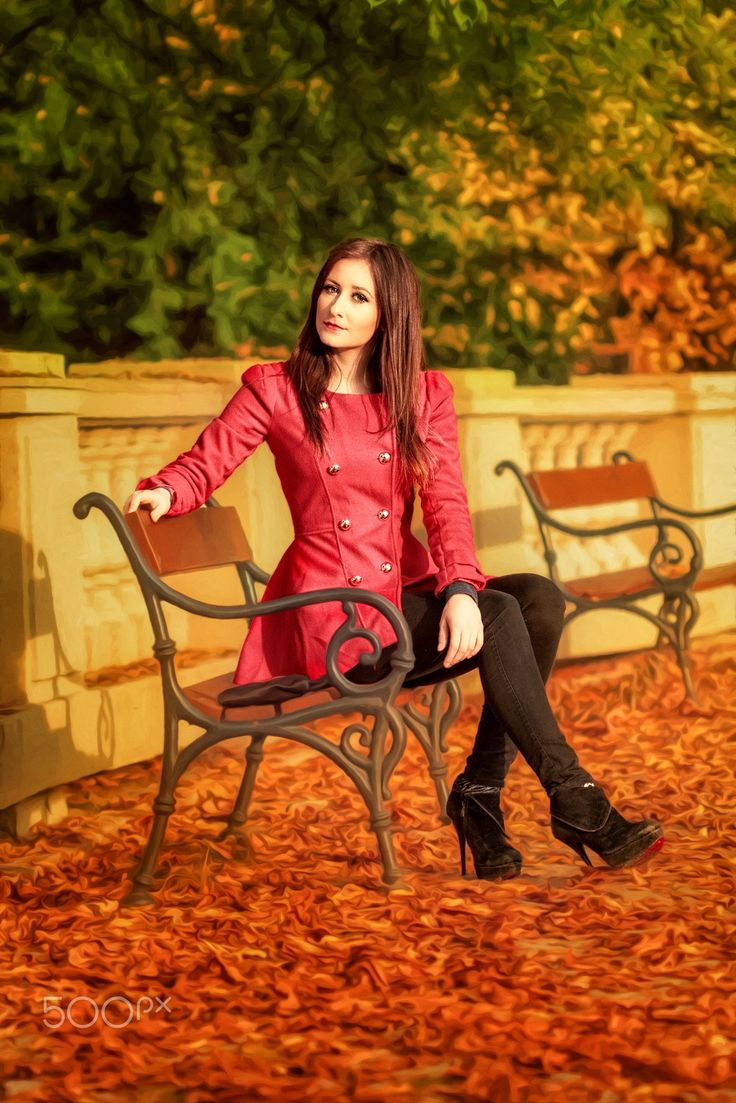 """Kristynka (28) - Fashion portrait of beautiful young woman.  You are welcome to visit my site <a href=""""http://portretyzeman.cz/"""">www.portretyzeman.cz</a> for my other portrait works.  You can also visit my <a href=""""http://janz.cz/"""">blog</a> about photography and retouching."""