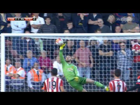 David de Gea vs Southampton (A) HD 720p ● 20/09/2015