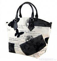 Stylová kabelka do ruky MAHEL 633-MH černá
