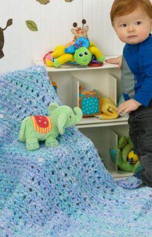 baby blue blanket free ebook simple patterns