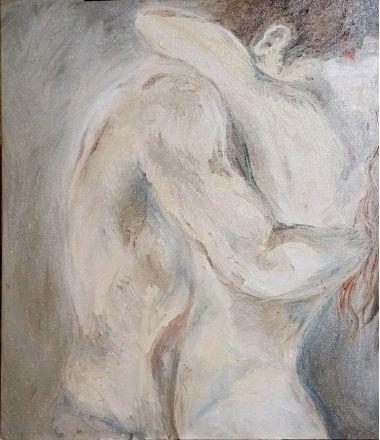 Картины | Валентина Пазий. Любовники  | Купить картину у художника в подарок мужчине