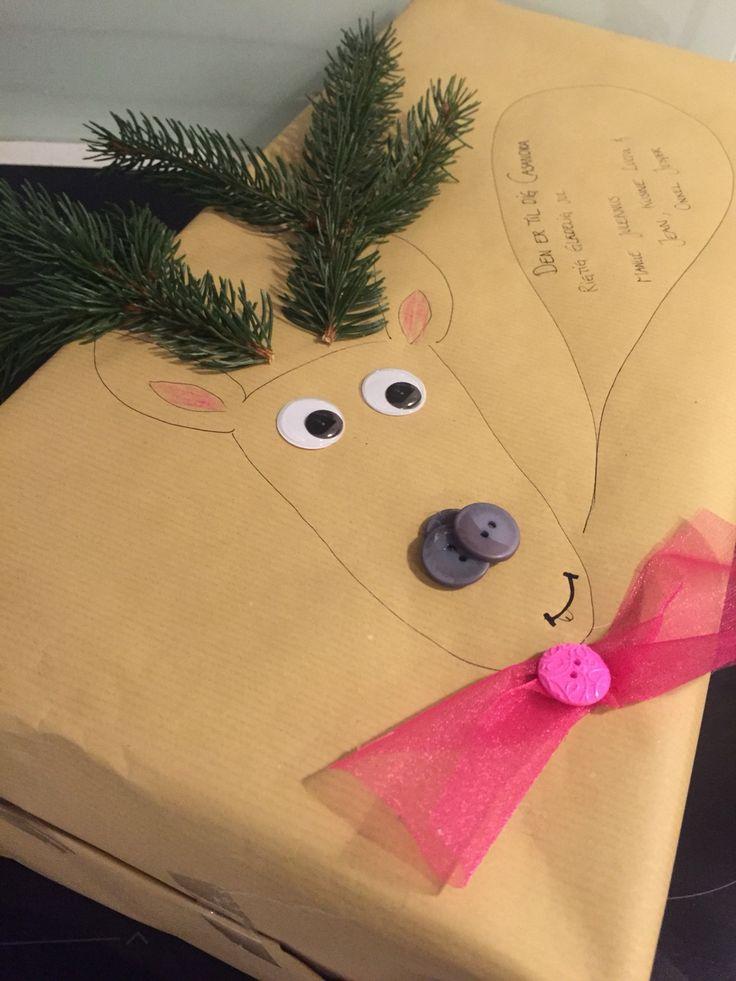 Lidt en anderledes måde at pakke gaverne ind på til ungerne..