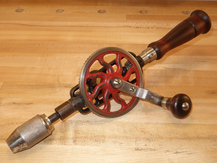 My favorite cordless drill. A Millers Falls No. 2 made in Greenfield, MA sometime after 1935 and... no batteries required!