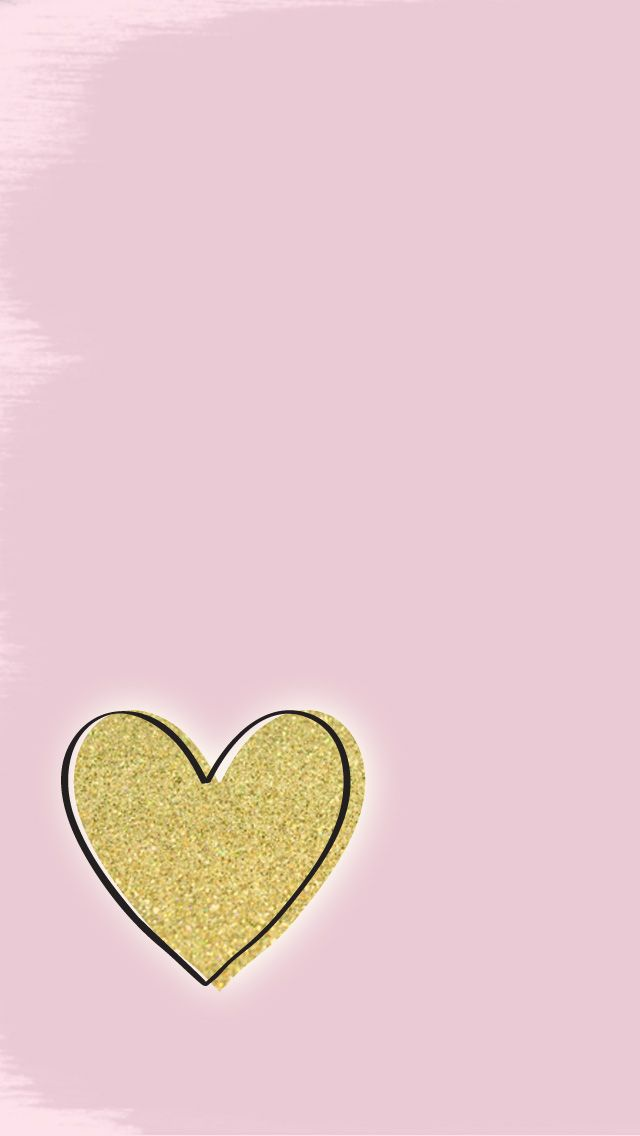 Glitter heart :) because shiny heart was already taken by Johnny Depp... Yeah that made no sense but we're going with it