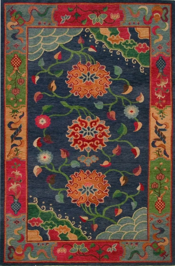 316 Best Antique Modern Chinese Tibetan Rugs Images On