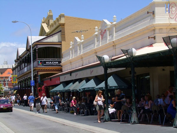 Fremantle's Cappuccino Strip, Western Australia. Photography by Niki Clay @ travelproject.com.au