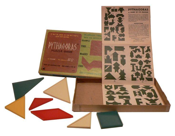 Pythagoras - game of 170 puzzles