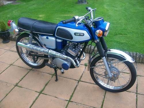 Memories -  Yamaha AS1c twin 125. I beat the living hell outta one of these bad boys when I was 14...