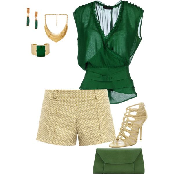 Dressy Shorts Outfit