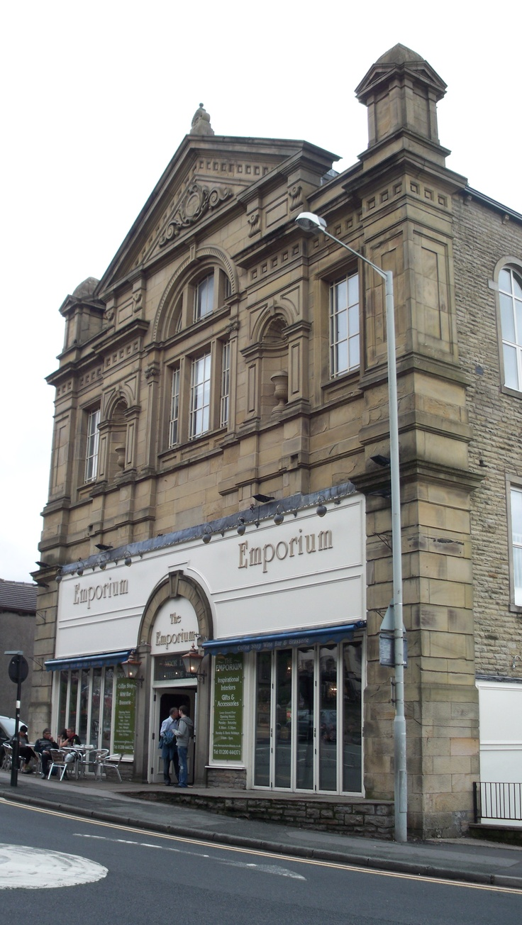 The Emporium, Clitheroe, former Methodist church - frontage
