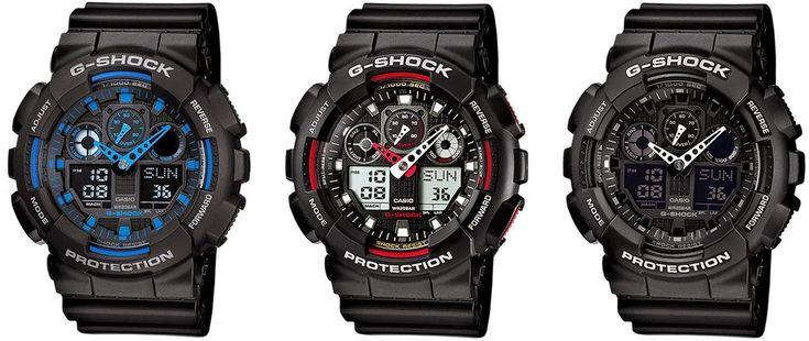 Элитные наручные часы: Легендарные часы Casio G-Shock GA100Часы Casio G-S...
