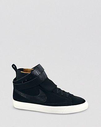 Nike High Top Sneakers - Blazer Twist Suede | Bloomingdale's