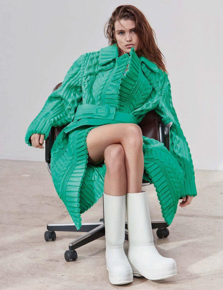 No Limits Publication: Vogue Germany May 2018 Model: Luna Bijl  Photographer: Alique Fashion
