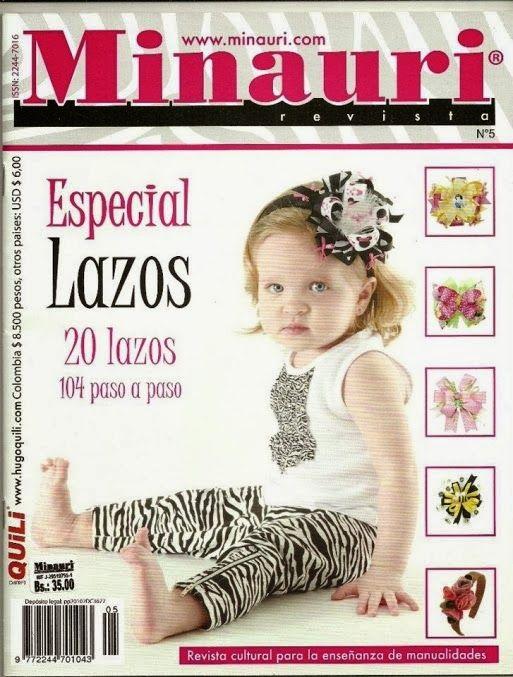 Revista lazos para cabello Minauri