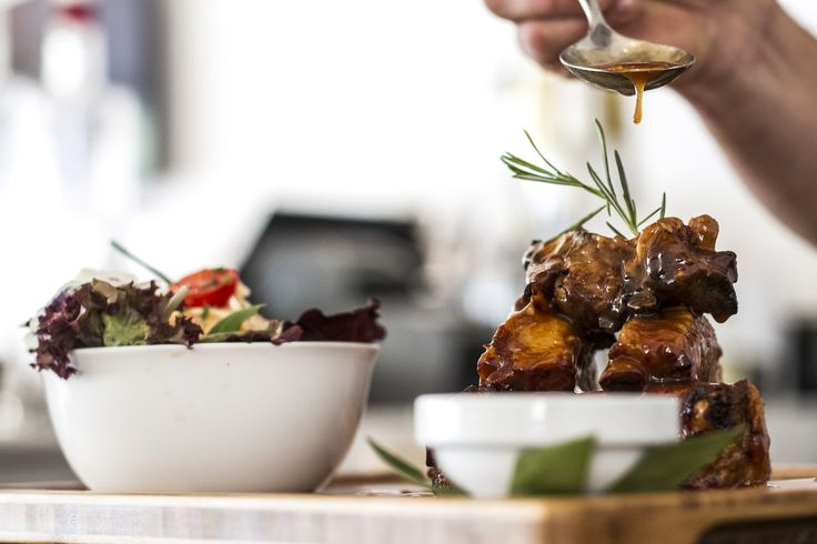 """""""Craving is a good thing. In matters of culinary art, craving creates wonders.""""  Andy Paula  Directly from our Delicious Rotisserie : ***** Slow Roasted Barbecue Ribs *****  #Today #NikkiBeach #Ibiza2015 #CulinaryArt #Exciting #NikkiBeachMoments"""