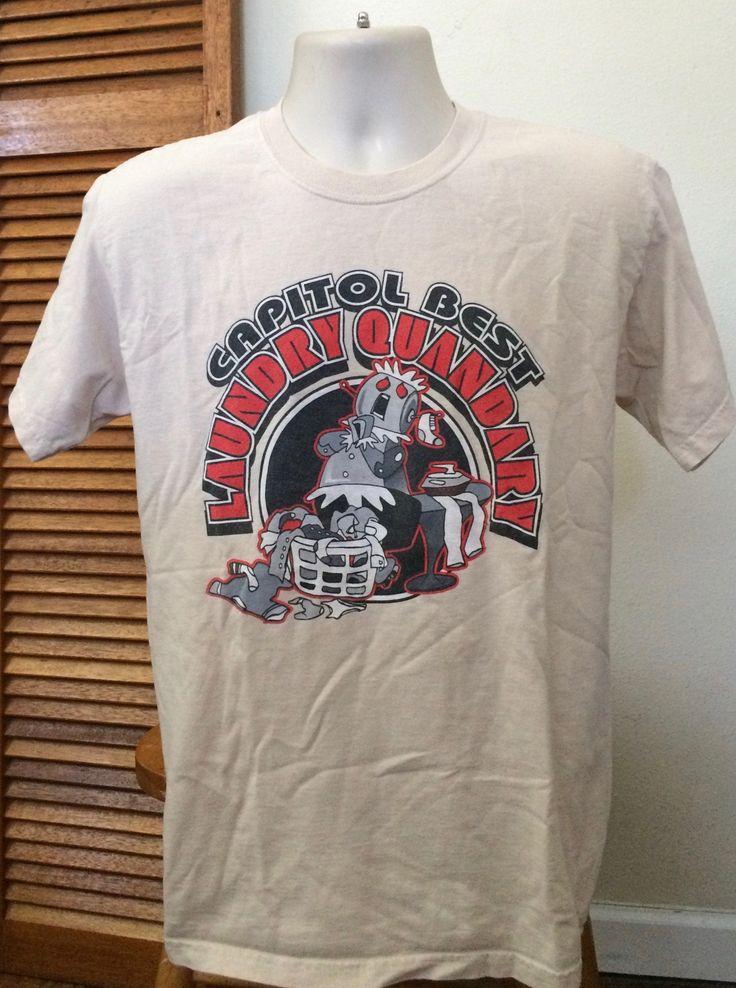 1990s vintage t shirt quandry laundry humor graphic tees
