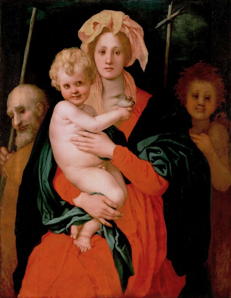 Madonna and Child with St. Joseph and St. John the Baptist, 1521-27