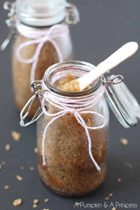 Honey Brown Sugar Scrub by apumpkinandaprincess #DIY #Sugar_Scrub