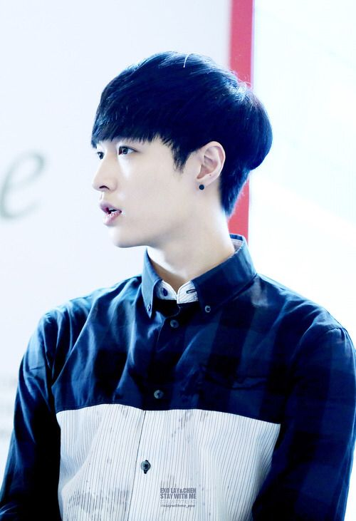 """Exo - Lay """"I need a nose job so then in every angle, I will look good. Like them,.."""""""