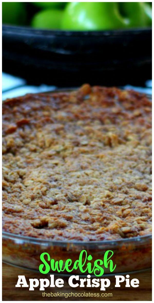 Swedish Apple Pie (aka Apple Crack) gluten free option via @https://www.pinterest.com/BaknChocolaTess/