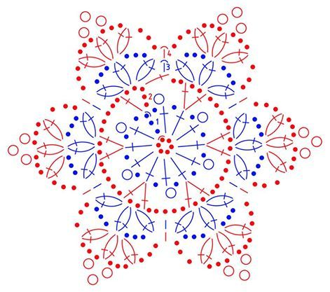 Gwiazdkowy kalendarz adwentowy...15a schemat śnieżynki...