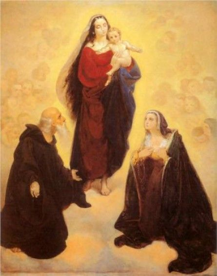 Our Lady by Jan Matejko