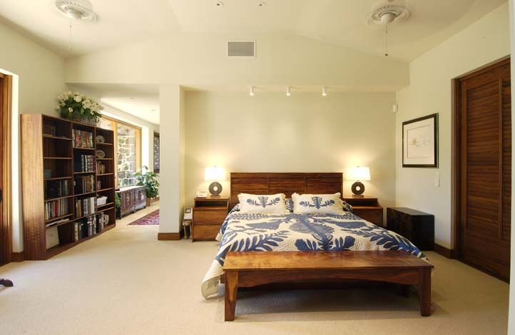 Hawaiian Style Master Bedroom With Koa Furniture Hawaii Honolulu Bed Room Pinterest Bedrooms And