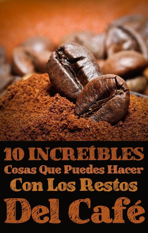 Editar 10 INCREÍBLES Cosas Que Puedes Hacer Con Los Restos Del Café