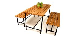 Production & sales of artificial wood, artificial rattan furniture.