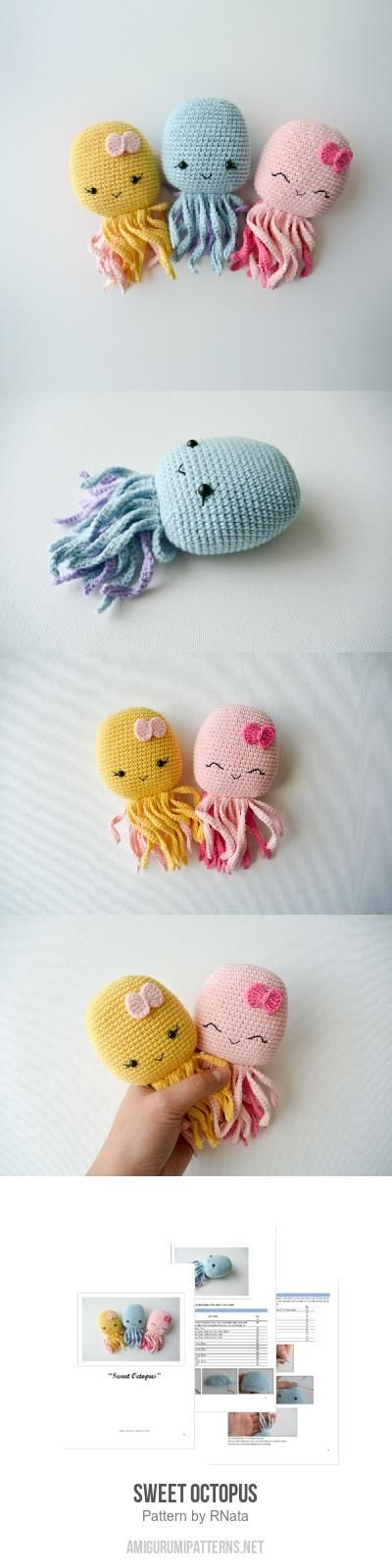 Sweet Octopus Amigurumi Pattern