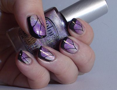 Duo Holographic gradient with butterfly wings :)