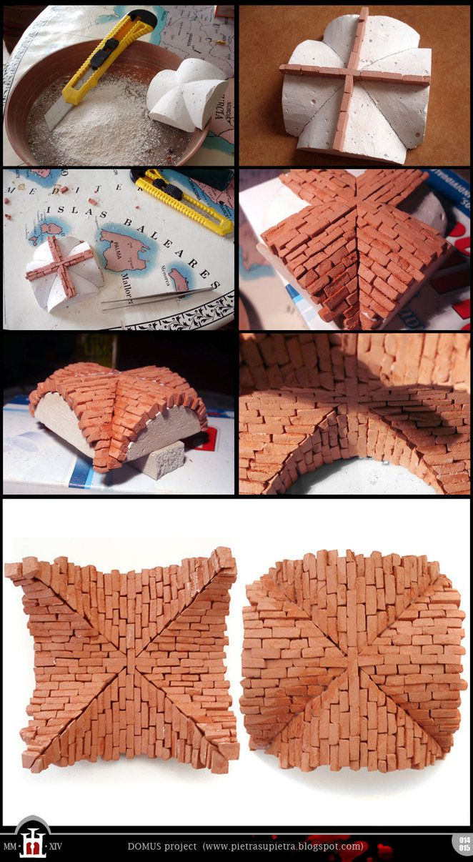 Domus project 14-15: Cross vault by Wernerio on deviantART