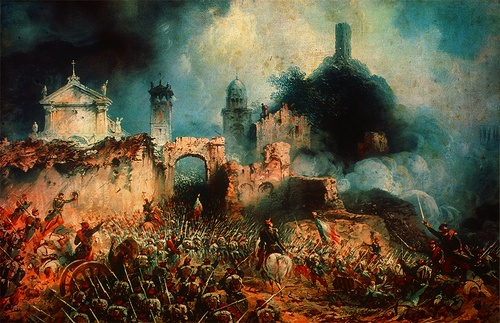 Carlo Bossoli - Battle of Solferino (1859)