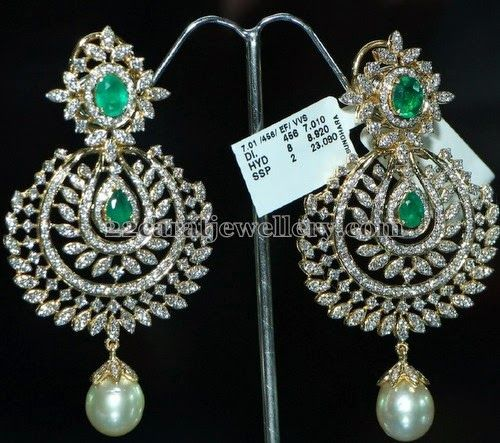 Tremendous Jhumkas and Hangings   Jewellery Designs
