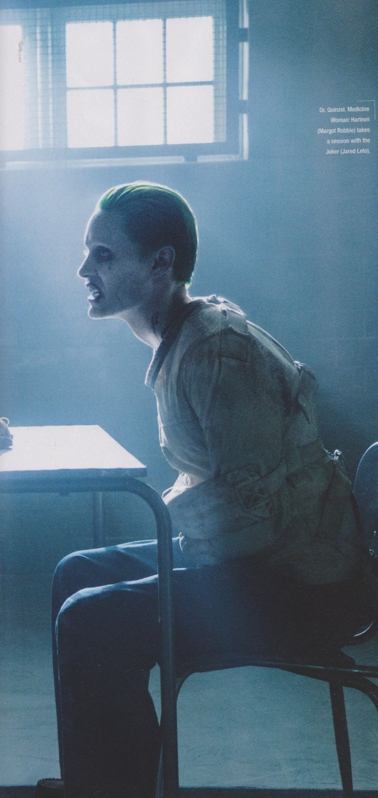 Jared Leto fala sobre o Coringa pela primeira vez   Terra Zero