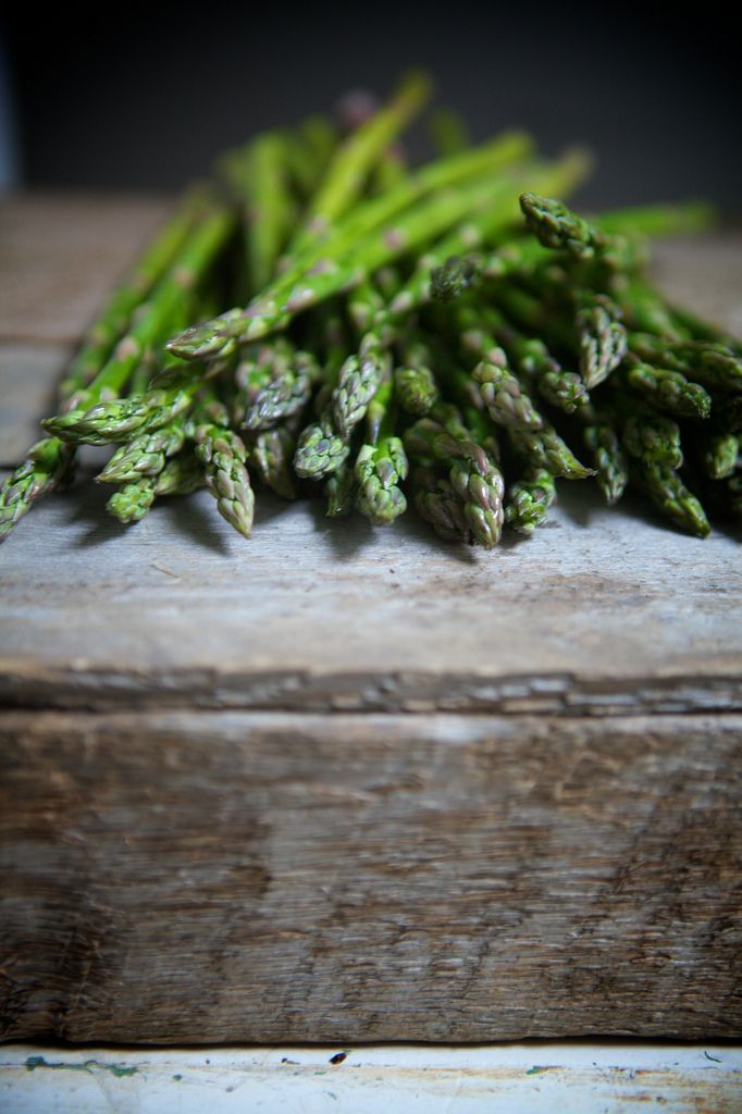Asparagus!  Steam it, drizzle with EVOO (extra virgin olive oil) and fresh squeezed lemon...yummm.