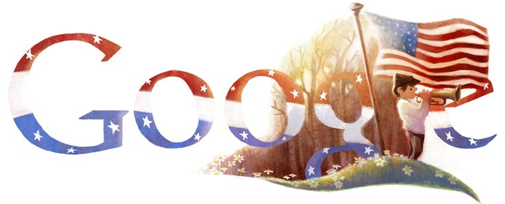 Veterans Day 2012 [День ветеранов] /This doodle was shown: 11.11.2012 /Countries, in which doodle was shown: United States